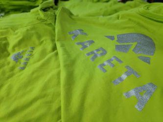 Potisk triček pro Karetu Bruntál